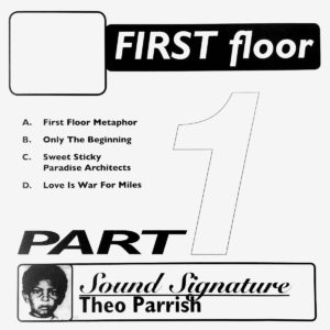 "Theo Parrish First Floor (Part 1) Peacefrog Records 2x12"", Reissue Vinyl"