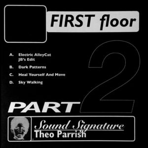 "Theo Parrish First Floor (Part 2) Peacefrog Records 2x12"", Reissue Vinyl"