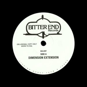 """Unknown Bitter End EP Bitter End 12"""" Vinyl"""