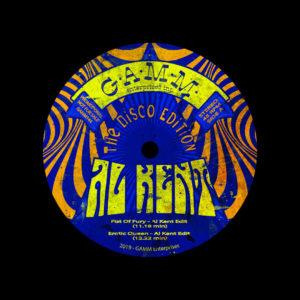 """Al Kent The Disco Edition Gamm 12"""" Vinyl"""