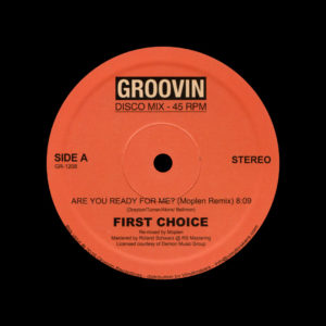 "First Choice Are You Ready For Me? Groovin Recordings 12"", Reissue Vinyl"