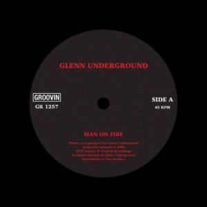 """Glenn Underground Man On Fire Groovin Recordings 12"""", Reissue Vinyl"""