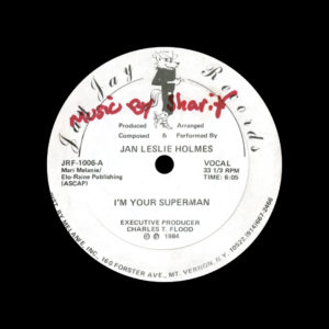 Jan Leslie Holmes I'm Your Superman Jay Jay Records Original Vinyl