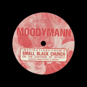 "Moodymann Inspirations From A Small Black Church KDJ 12"" Vinyl"