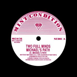 "Two Full Minds Michael's Path Mint Condition 12"", Reissue Vinyl"
