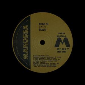 "Buari Koko Si / I'm Ready Makossa International 12"", Reissue Vinyl"