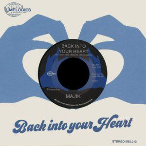 "Majik Back Into Your Heart Melodies International 7"" Vinyl"