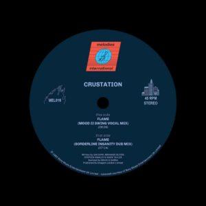"Crustation Flame (Mood II Swing Remixes) Melodies International 12"", Reissue Vinyl"