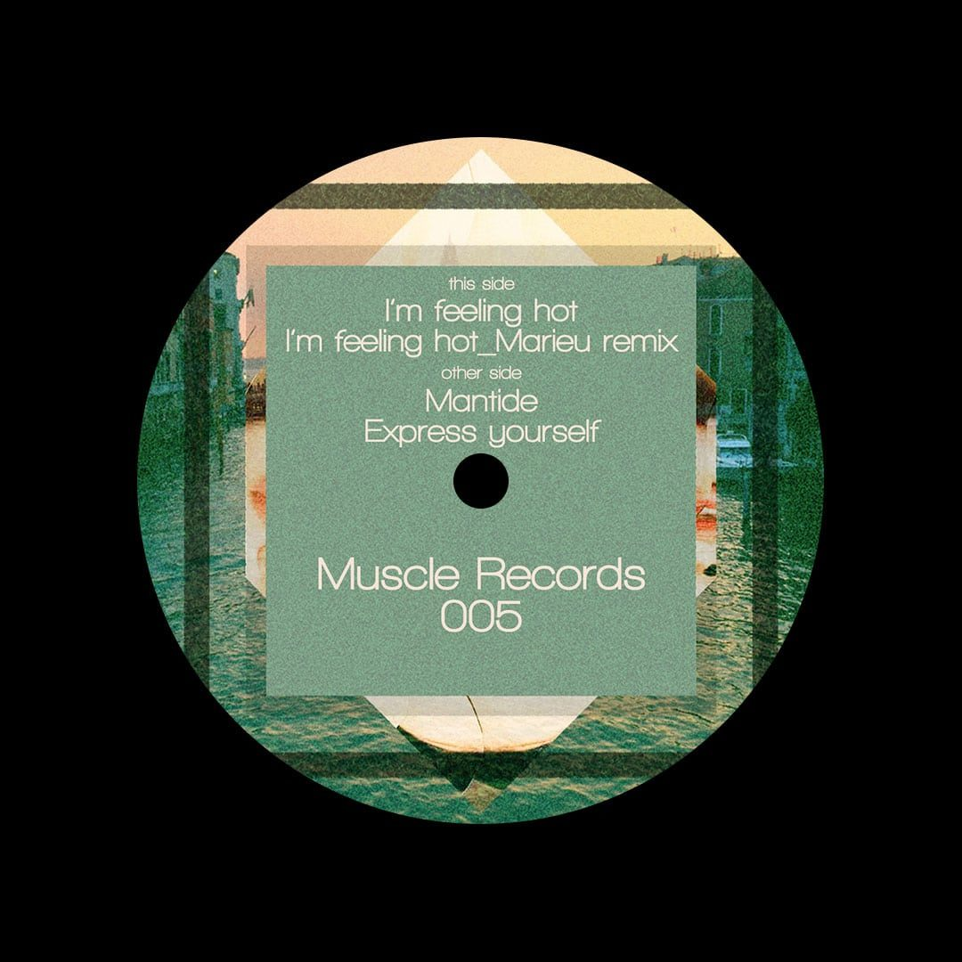 """Madi Grein Mainly Love Muscle Records 12"""" Vinyl"""