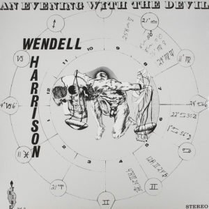 Wendell Harrison An Evening With The Devil Pure Pleasure LP, Reissue Vinyl