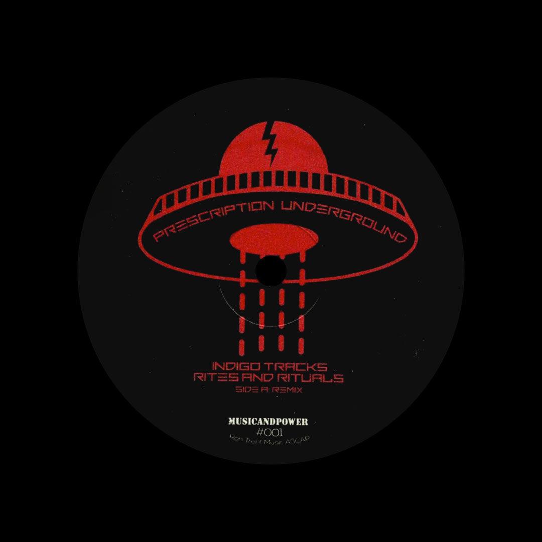 """Ron Trent Rites & Rituals Remixed Prescription Underground 12"""" Vinyl"""