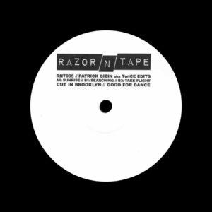 """Patrick Gibin RNT035 Razor-N-Tape 12"""" Vinyl"""
