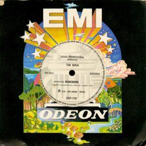 """Tim Maia Reencontro Odeon 7"""" Vinyl"""