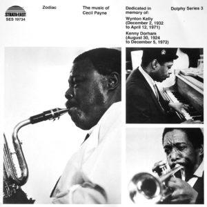 Cecil Payne Zodiac Pure Pleasure LP, Reissue Vinyl