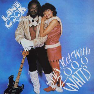 Lang Cook She's Hot With 2,000 Watt's Terrestrial Funk LP, Reissue Vinyl