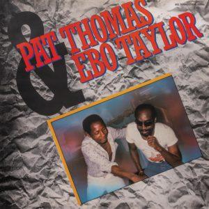 Ebo Taylor, Pat Thomas Pat Thomas & Ebo Taylor Terrestrial Funk LP, Reissue Vinyl