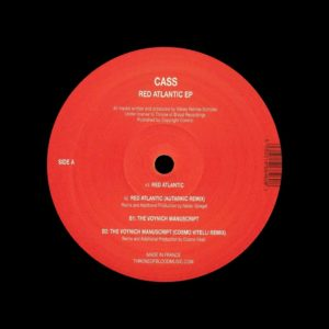 "Cass Red Atlantic EP Throne Of Blood 12"" Vinyl"