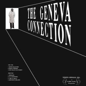Johnny Griffith The Geneva Connection Mad About Records LP, Reissue Vinyl
