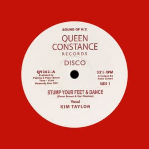 "Kim Taylor, Licky Stump Your Feet & Dance / African Rock Queen Constance 12"", Red, Reissue Vinyl"