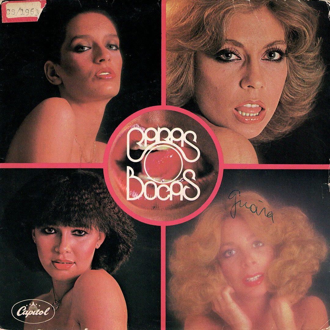 """Caras E Bocas Souvenir De Bombons / Papel E Fumaça Capitol Records 7"""" Vinyl"""