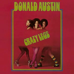 Donald Austin Crazy Legs Tidal Waves Music LP, Reissue Vinyl