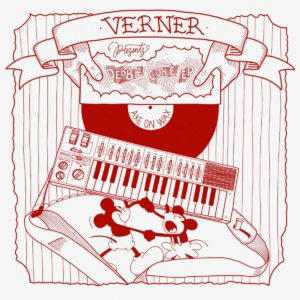 """Verner Debbie Coke EP Axe On Wax 12"""" Vinyl"""