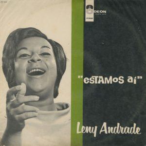 Leny Andrade Estamos Ai Odeon LP Vinyl
