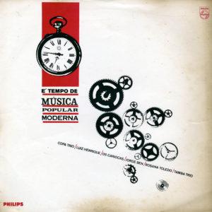 Various É Tempo De Música Popular Moderna Philips Original Vinyl