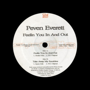 "Peven Everett Feelin You In And Out Symple Soul 12"" Vinyl"