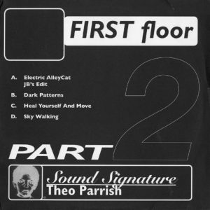 "Theo Parrish First Floor (Part 2) Peacefrog Recordings 2x12"" Vinyl"