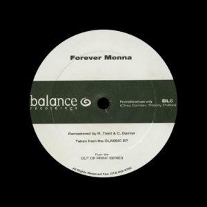 "Chez Damier, Stacey Pullen Forever Monna Balance 12"" Vinyl"