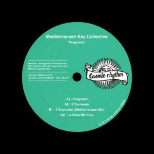 "Mediterranean Key Collective Fragranza Cosmic Rhythm 12"" Vinyl"