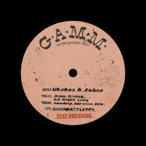 "Jabco, Ukokos GAMM Battle Weapons, Vol. 3 Gamm 12"" Vinyl"