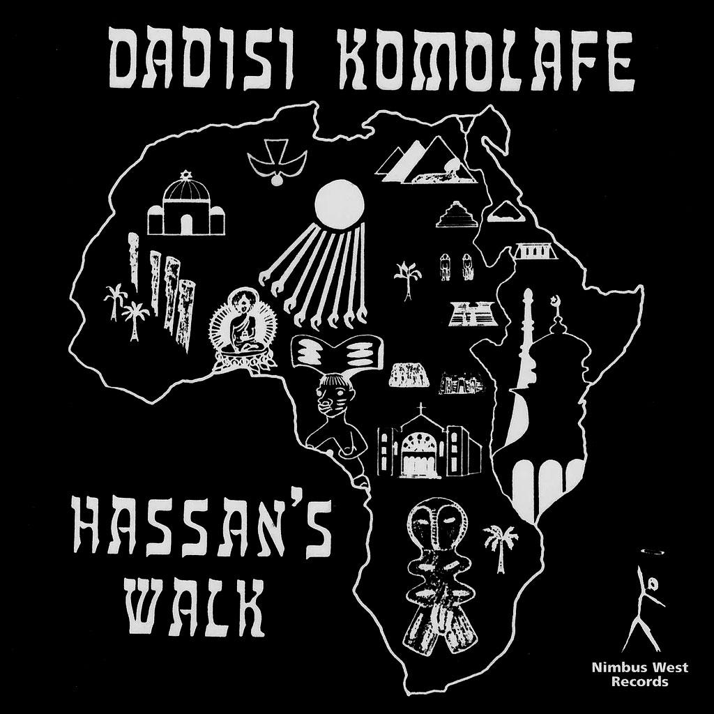 Dadisi Komolafe Hassan's Walk Pure Pleasure LP, Reissue Vinyl