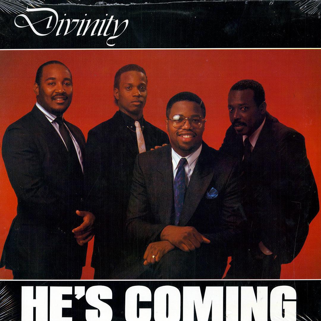 Divinity He's Coming Score Records Original Vinyl