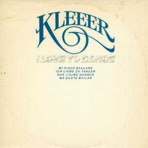 Kleeer I Love To Dance Atlantic LP, PR Vinyl