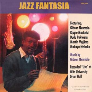 Gideon Nxumalo Jazz Fantasia Mad About Records LP, Reissue Vinyl