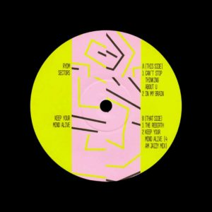 "Rydm Sectors Keep Your Mind Alive Let's Play House 12"" Vinyl"
