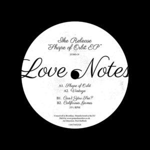 "Ike Release Shape Of Orbit EP Love Notes 12"" Vinyl"