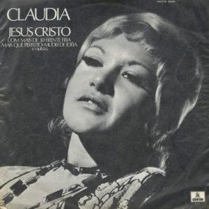 Claúdia Jesus Cristo Odeon LP Vinyl