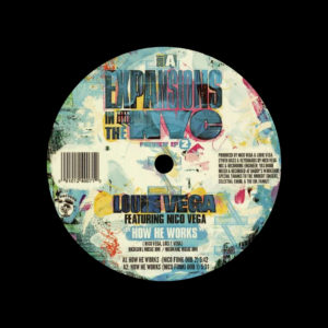 """Louie Vega Expansions In The NYC, Prev. EP 2 Nervous 12"""" Vinyl"""
