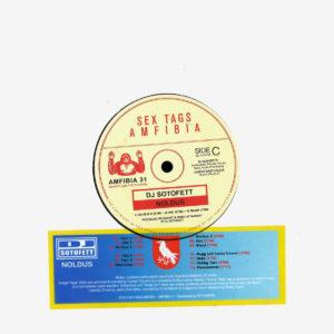 "DJ Sotofett Noldus Sex Tags Amfibia 2x7"" Vinyl"