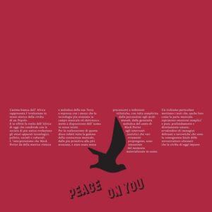 Mack Porter Peace On You Tidal Waves Music LP, Reissue Vinyl