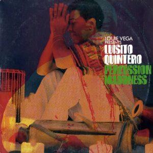 "Louie Vega Percussion Maddness Rapster Records 2x12"" Vinyl"