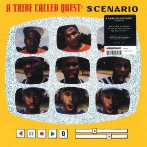 """A Tribe Called Quest Scenario Mr Bongo 7"""", Reissue Vinyl"""