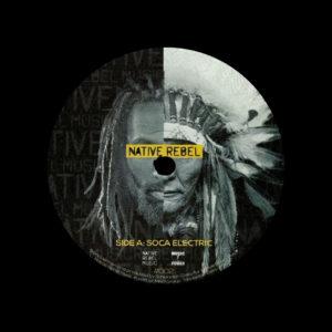 "Trinidadian Deep Soca Electric Native Rebel Music 12"" Vinyl"