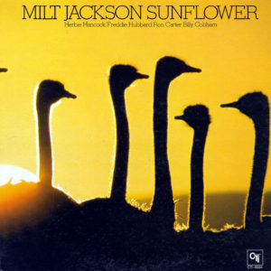 Milt Jackson Sunflower CTI Records LP Vinyl