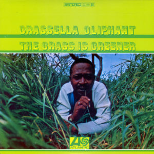 Grassella Oliphant The Grass Is Greener Atlantic LP, Reissue Vinyl