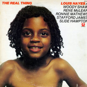 Louis Hayes The Real Thing Muse Records LP Vinyl