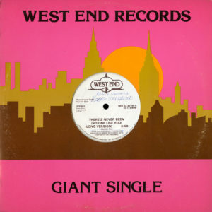 Kenix There's Never Been (No One Like You) West End Records Original Vinyl
